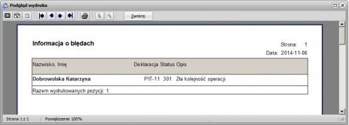 EDex - Moduł komunikacji z systemem e-Deklaracje